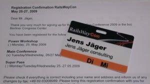 Eintrittskarte RailsWayCon