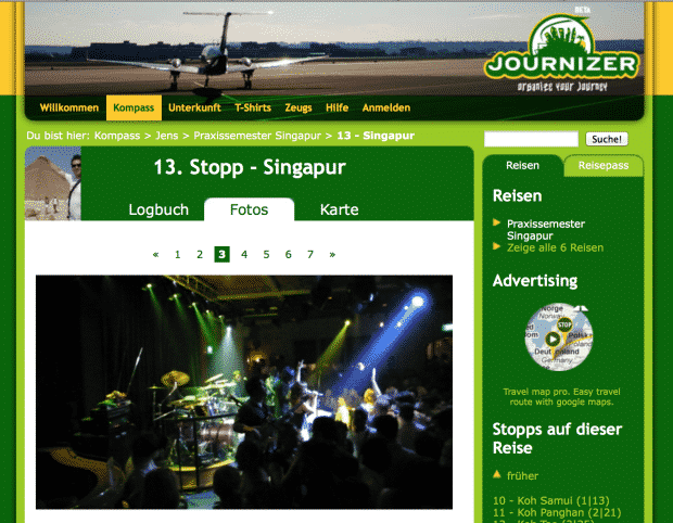 journizer.com screenshot